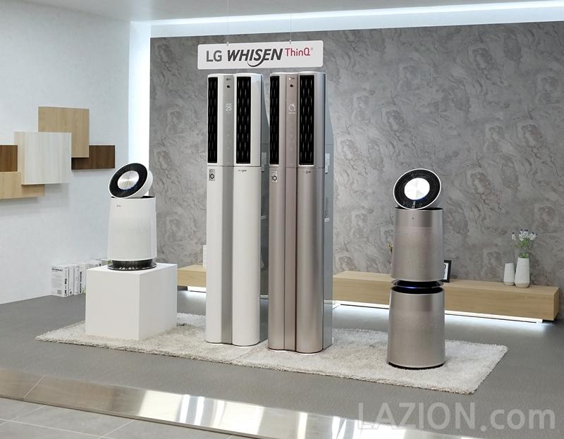 LG 휘센 에어컨 신제품 발표회 현장 : 인공지능 스스로 에어컨을 만나다