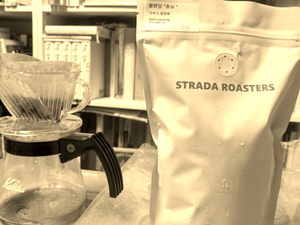 요즘 근황과 스트라다 로스터스 STRADA ROASTERS