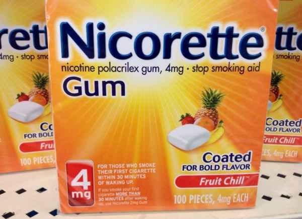 니코틴 껌